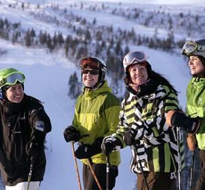 Saariselkä Inari Lappi hiihtokeskus. Kuva: Simo Vunneli