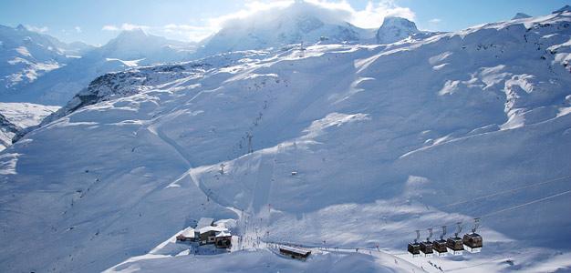 Zermatt - hiihtokeskus