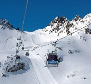 Kaunertal - hiihtokeskus
