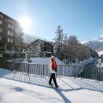 Zermatt kylä silta