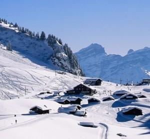 Alpes Vaudoises - hiihtokeskus