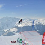 Lumilautailu parkki hyppyri snow park Westendorf SkiWelt Wilder Kaiser - Brixental