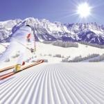 Rinnelasku laskettelu alppihiihto alppimaisema laskettelukeskus hiihtokeskus