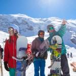 Saas Fee laskettelu lumilautailu hiihtokeskus