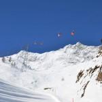 Saas Fee laskettelukeskus hiihtokeskus hiihtohissi gondolihissi