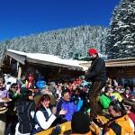 SkiWelt, after ski, juhlijat, terassi