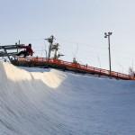 talma ski halfpipe lautailu