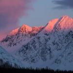 lyngen alp mountains